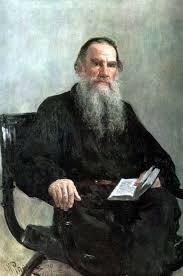 Ilia Repin, The portrait of Leo Tolstoy «Портрет Льва Толстого ...