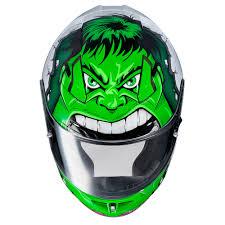 Hjc Cl 17 Marvel Hulk Motorcycle Helmet Green White Walmart Com Walmart Com