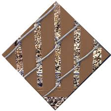 4 Ft H X 0 1 In L 78 Pack Brown Chain Link Fence Privacy Slat In The Chain Link Fence Slats Department At Lowes Com