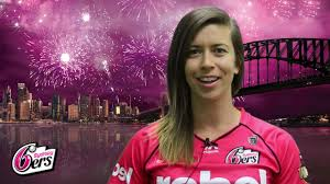 Erin Burns signs with the Sydney Sixers - YouTube