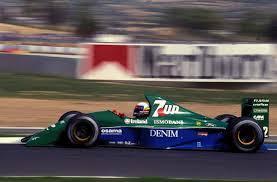 1991 Jordan Grand Prix 191 Alessandro Zanardi