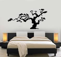 Japanese Bonsai Tree Nature Decor Japan Island Wall Sticker Vinyl Decal Unique Gift M612 Japanese Bonsai Tree Japanese Wall Decor Nature Decor