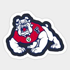 Fresno State Bulldogs Fresno State Bulldogs Sticker Teepublic