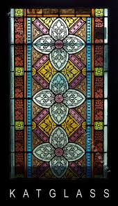 antique stained glass window repair and
