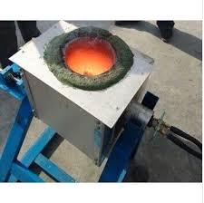 50kg gold melting induction furnace