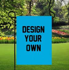 personalized garden flags design your