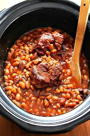 slow cooker baked beans using dried