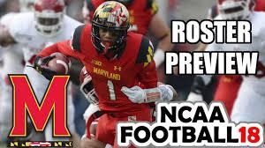 NCAA Football 18 - Maryland 2017 Roster ...