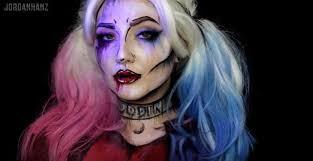 diy makeup tutorials harley quinn