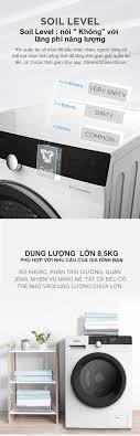 Máy Giặt Cửa Trước 8.5kg Midea MFK85-1401 (Diệt Khuẩn, 14 Chế Độ Giặt) -  Hàng Phân Phối Chính Hãng Bảo Hành 2 Năm
