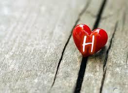 صورة حرف H حروف بتصميمات وزخرفه جميله رهيبه