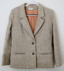 herdwick wool las twin set jacket