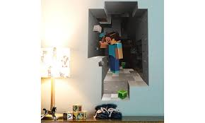 Up To 46 Off On Kids Room Excellent 3d Minecr Groupon Goods