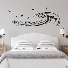 Waves And Seagulls Wall Decal