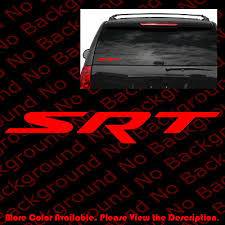 Dodge Rt R T Charger Challenger Vinyl Die Cut Car Decal Sticker Free Shipping