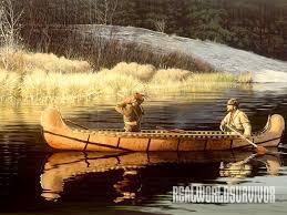diy birch bark canoe