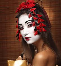 how to apply geisha makeup saubhaya