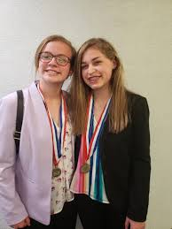 Ava Cole and Maddie Levell Place in Top Ten at National Competition in  Anaheim, CA - Switzerland County School Corporation