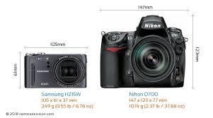 Samsung HZ15W vs Nikon D700 Detailed ...