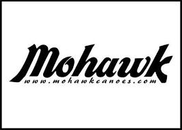 Mohawk Canoe Logo Decal Mohawk Canoes