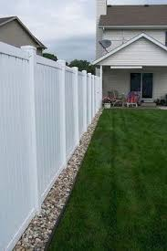 20 White Vinyl Ideas Backyard Fences Fence Design Vinyl Fence