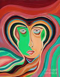 Illusion Painting by Ida Mitchell