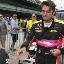 Jack Harvey, the British driver making his Indy 500 debut in ...