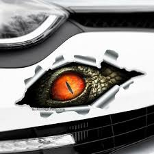 Funny 3d Simulation Models Peeping Eyes Auto Vinyl Car Decal Stickers Vv Archives Midweek Com