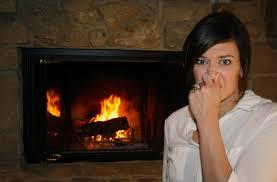 fireplace backdraft chimney downdraft