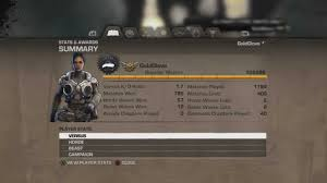 My Gears of War 3 Stats (January 2nd ...
