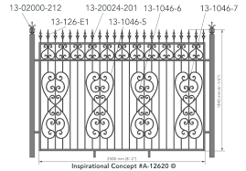 Mix And Match Your Favorite Design Elements For A One Of A Kind Decorative Metal Fence Check Out King Unique Fence Ideas Privacy Fence Designs Concept Design