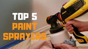 Best Paint Sprayer In 2019 Top 5 Paint Sprayers Review Youtube