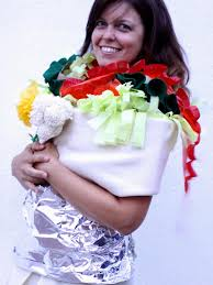 diy burrito costume how tos