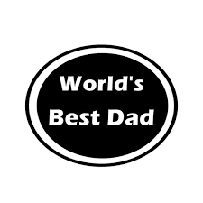 Worlds Best Dad Vinyl Decal For Laptops Macbooks Windows Mugs Etsy