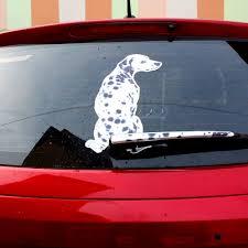Dalmatian Dog Wiper Decal