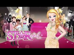 star fashion makeup dress