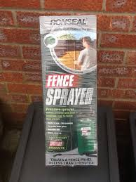 To Seal Fence Sprayer In Yo24 York For 7 00 For Sale Shpock