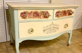 Furniture Glass Ceramic Decal Image Transfer Vintage Pink Roses Palerose1