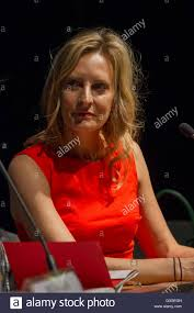 American writer Wednesday Martin one of the guest during Torino Book Stock  Photo - Alamy
