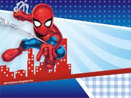 Invitaciones De Cumpleanos De Spiderman Para Fondo De Pantalla 7