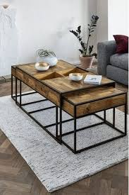 jefferson coffee nest of 3 tables in