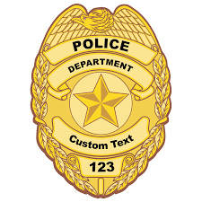 Police Security Themed Car Stickers Decals Over 100 Designs