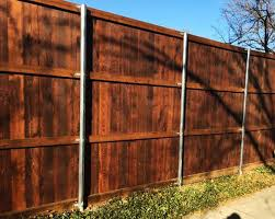 8 Ft Board On Board Back Fence Companies Gate Companies Lifetime Fence Company Frisco Fort Worth Denton Lewisville