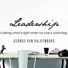 Amazon Com My Vinyl Story Premium George Van Valkenburg Quote Inspirational Wall Decal For Home Business Office Decor Leadership Be Inspired With A Typography Decoration Sticker Words And Sayings 36x13 Inche Home