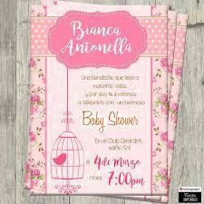 Invitaciones Digitales Personalizadas Baby Shower De Nina Bs 0