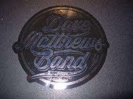 Artists D Entertainment Memorabilia Dave Matthews Band Silver Fire Dancer Logo Window Sticker New Not Cd Lp Logo Entertainment Memorabilia Rock Pop