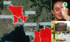Melbourne back in coronavirus lockdown ...