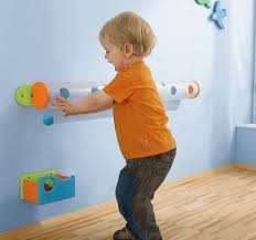 Haba Marble Track Wall Activity 120262 Wall Toys Waiting Room Toys