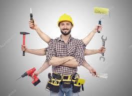Handyman with tools — Stock Photo © Goir #103173498