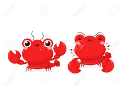 Lobster. Vector Flat Cartoon Character ...